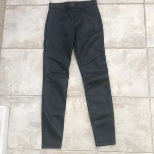 NWOT Free People Faux Leather Pants